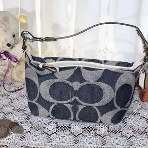 Coach Bags - Coach Signature Demi jacquard bag